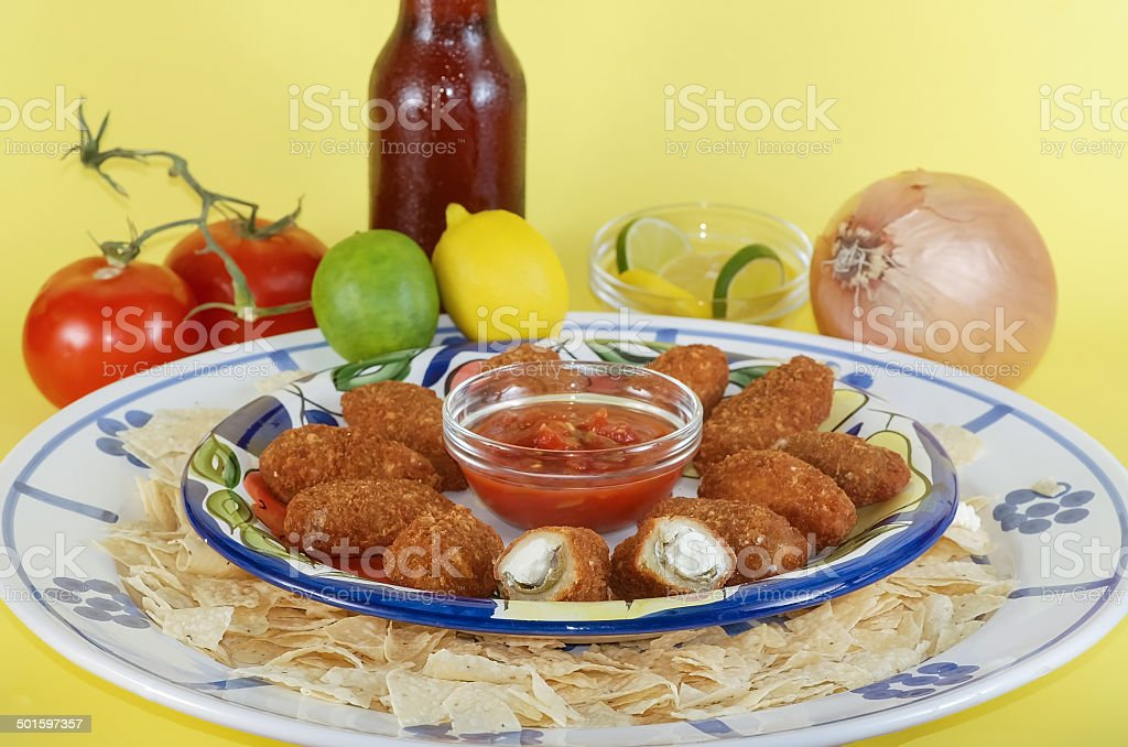 Spicy Party Platter stock photo