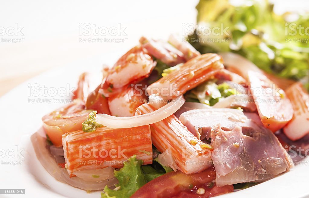Spicy Salad. royalty-free stock photo