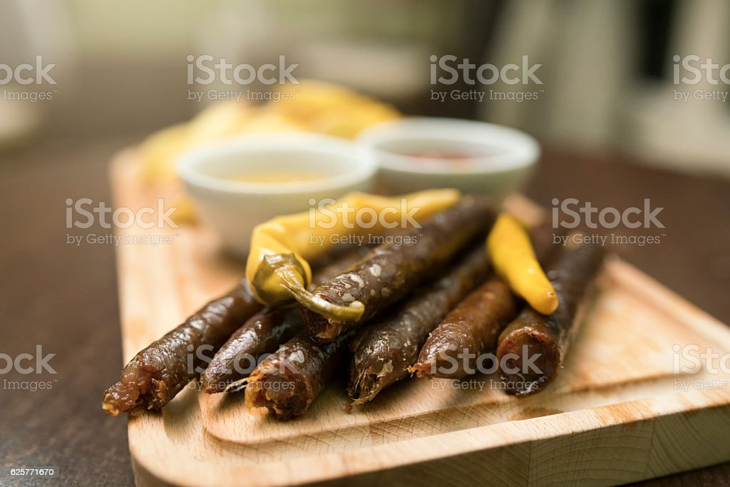 Spicy, savory and delicious stock photo