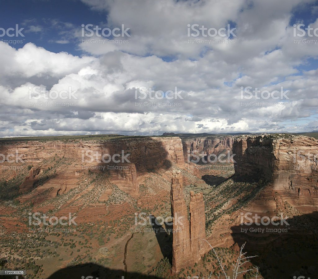 Spider Rock royalty-free stock photo