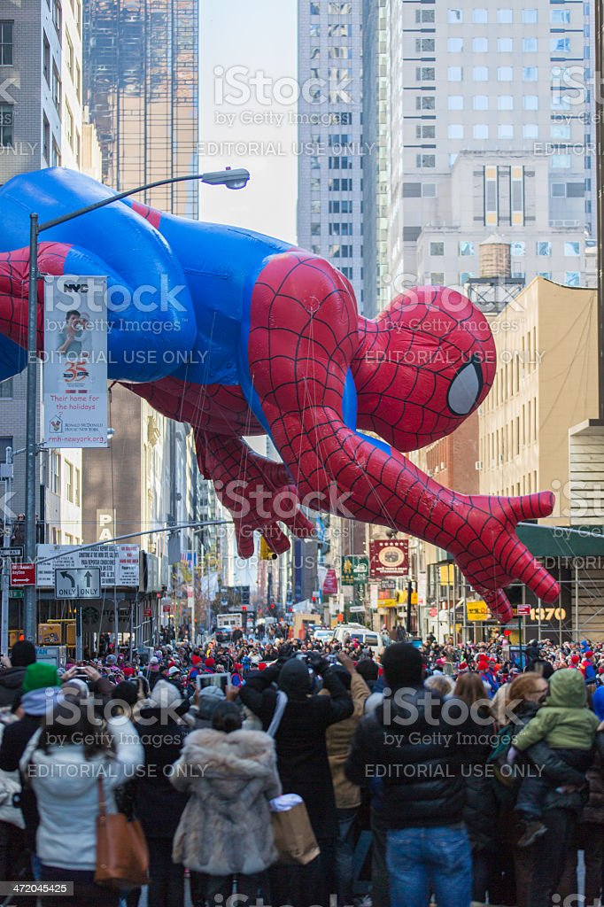 Spiderman Balloon stock photo