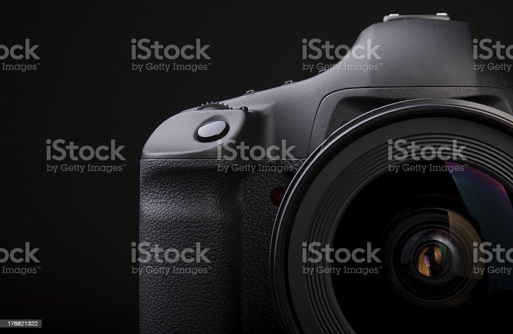 SLR Spiegelreflex Kamera royalty-free stock photo