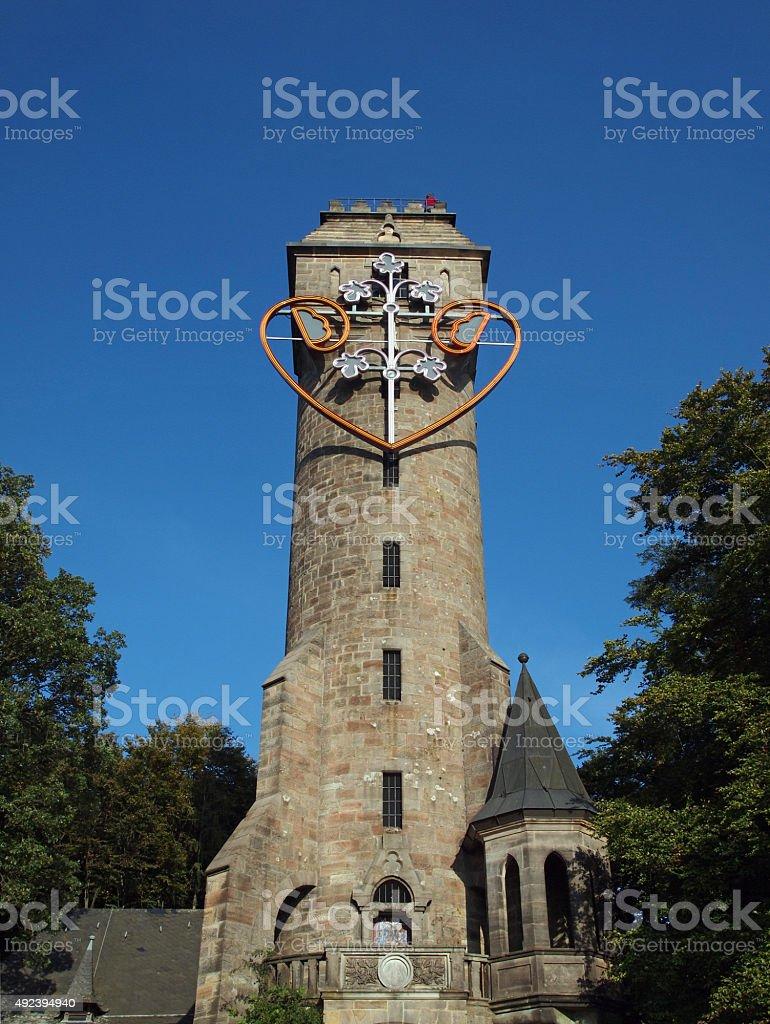 Spiegelslustturm stock photo