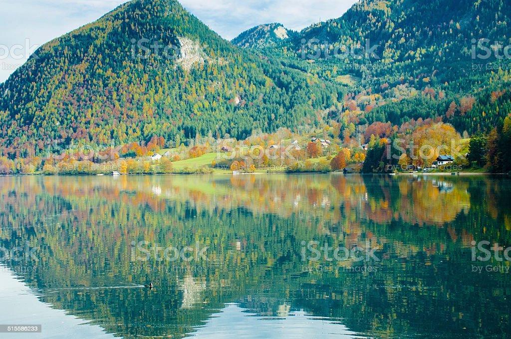 Spiegelung stock photo