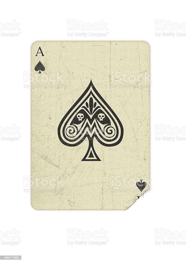 Spielkarte stock photo