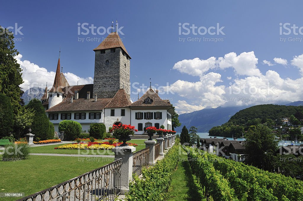 Schloss Spiez royalty-free stock photo
