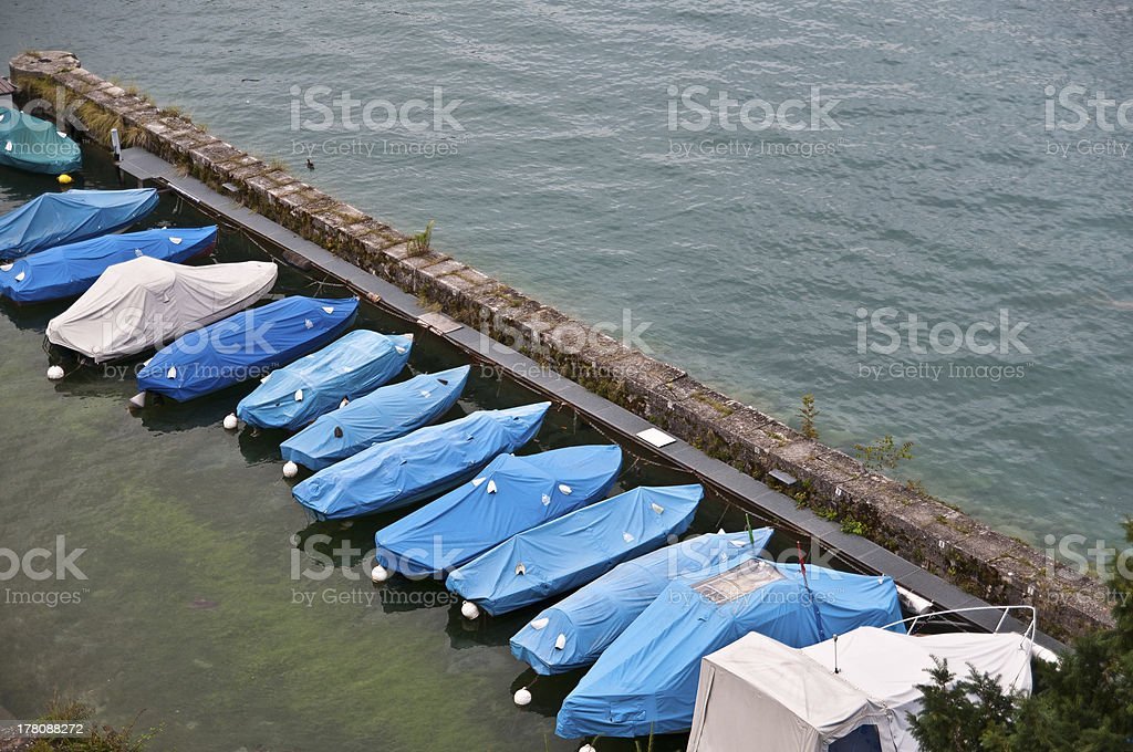 Spiez Thunersee royalty-free stock photo