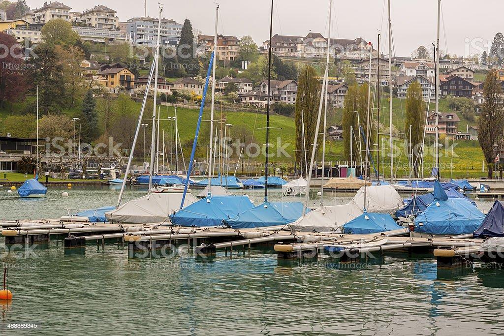 Spiez - Switzerland. royalty-free stock photo