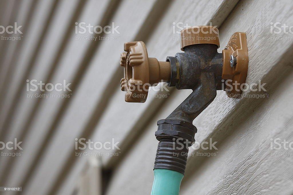 Spigot stock photo