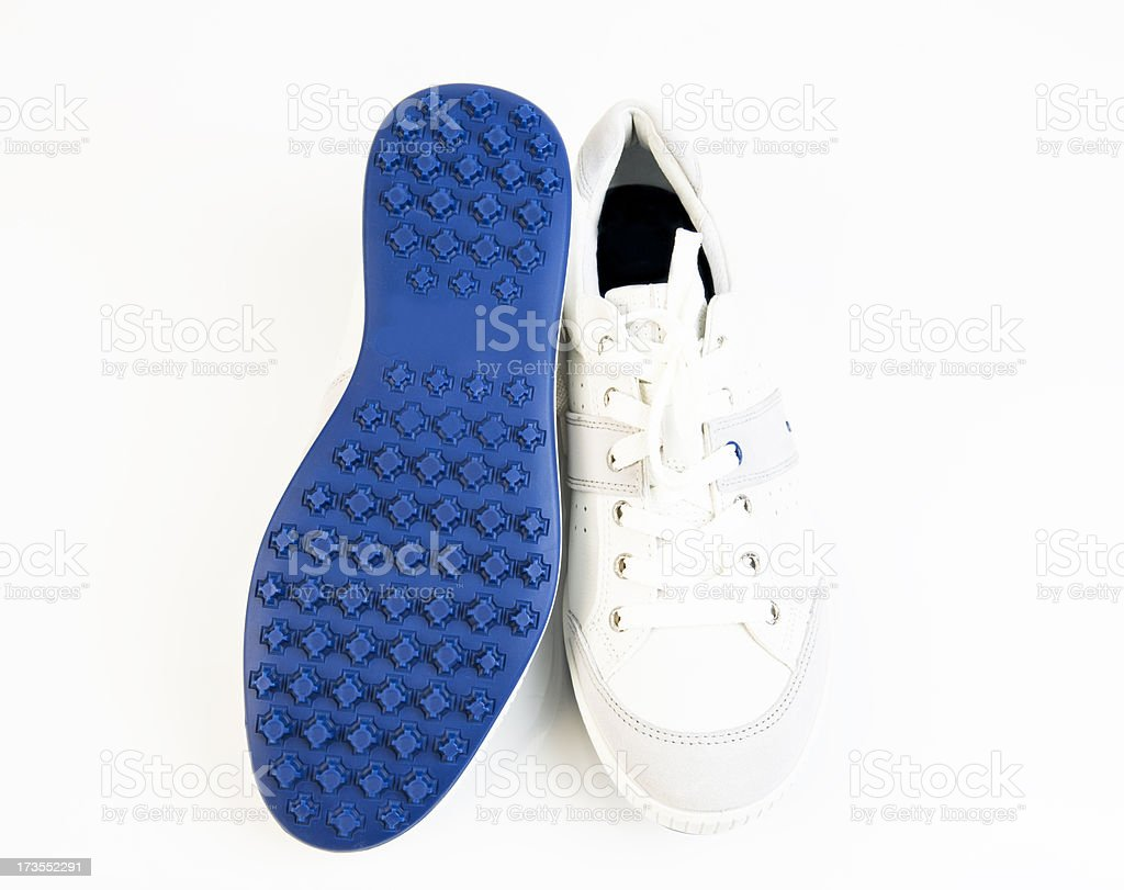 Spikeless Golf Shoes - No Spikes royalty-free stock photo