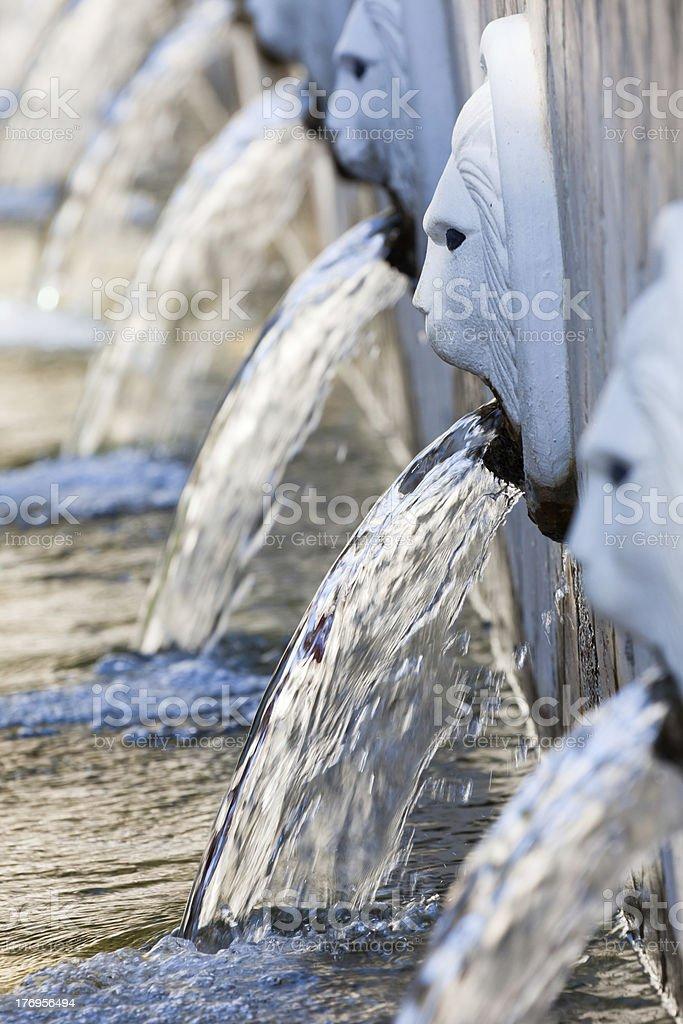 Spili spring, Crete stock photo