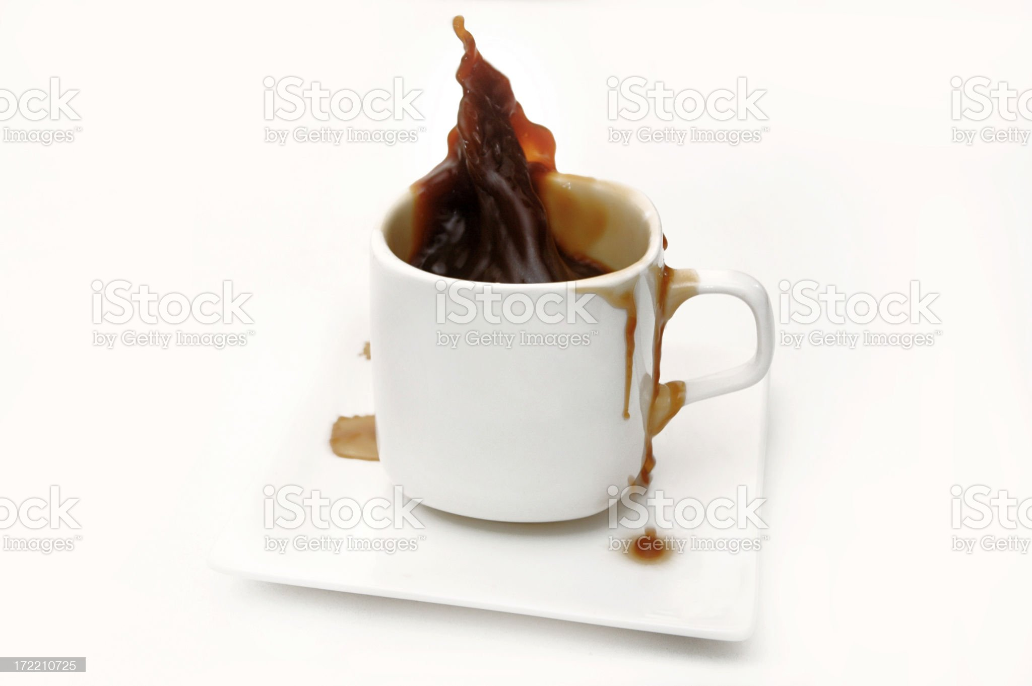 Spill royalty-free stock photo