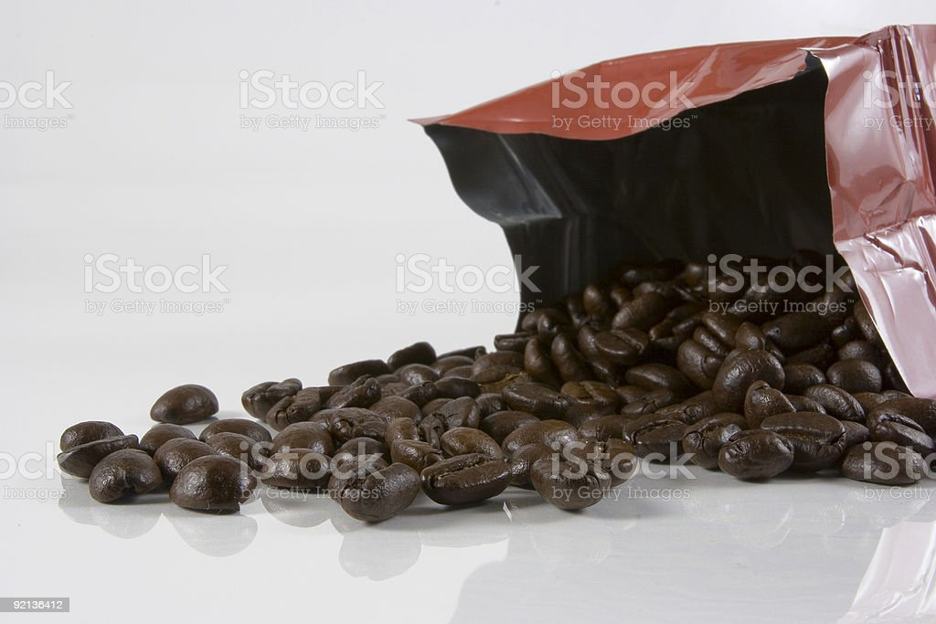 Spill the beans royalty-free stock photo