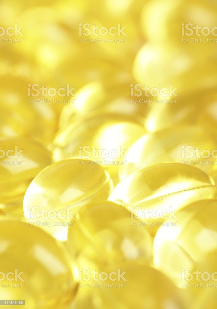 Spilled pills royalty-free stock photo