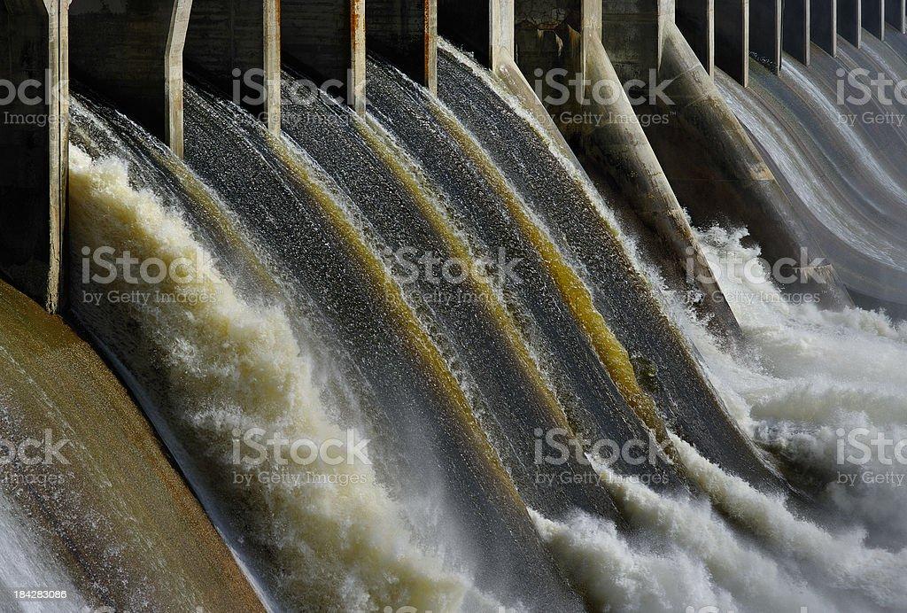 Spillway royalty-free stock photo