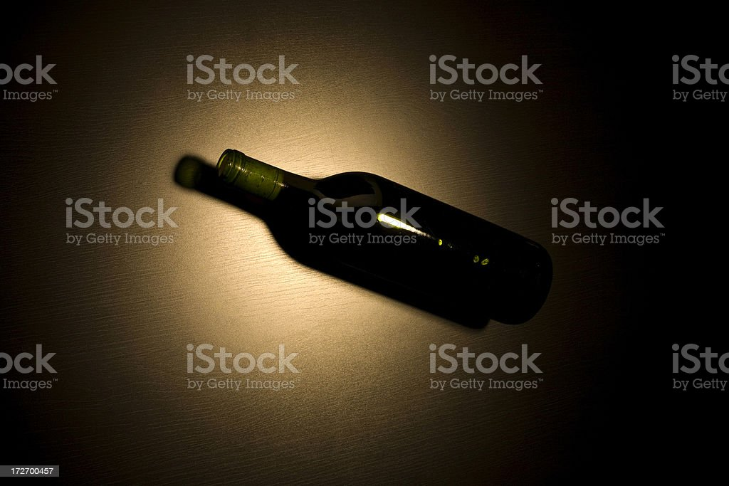 Spin the Bottle stock photo