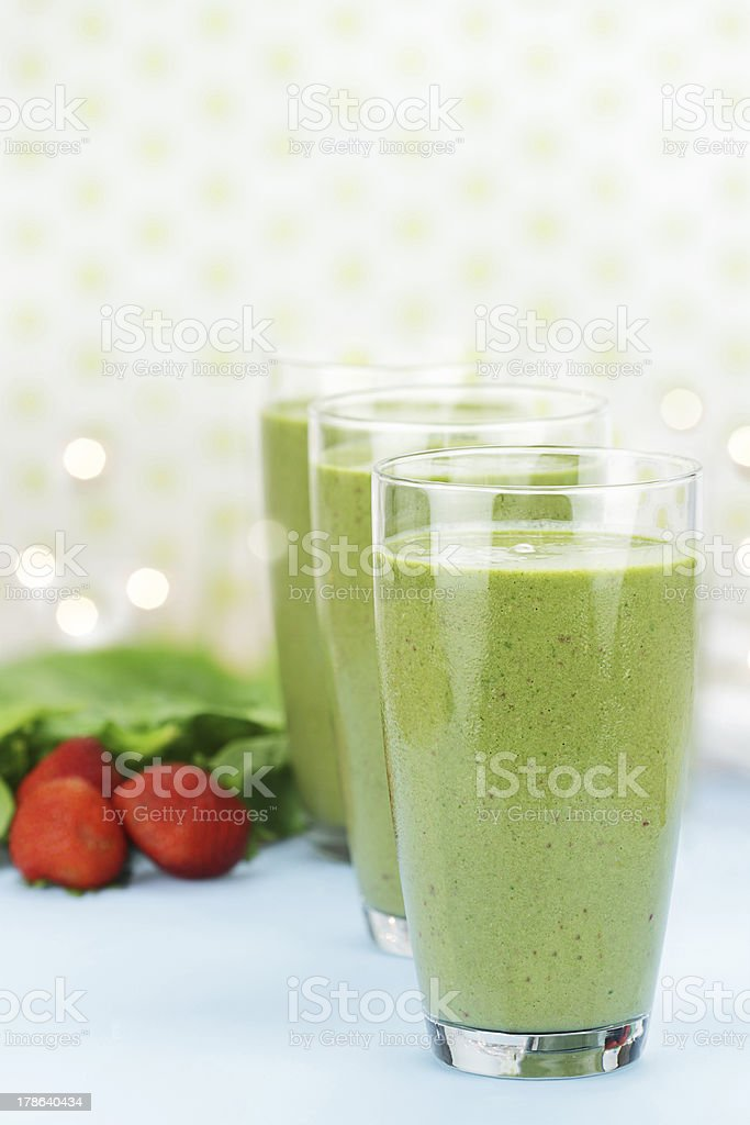 Spinach Smoothie royalty-free stock photo
