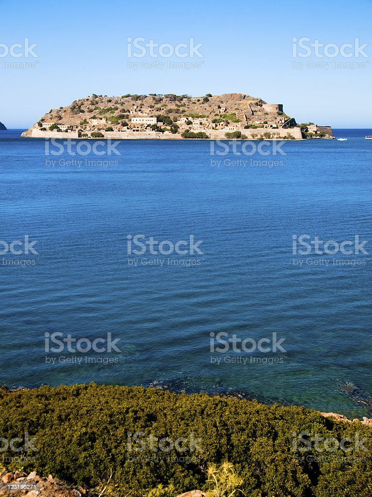 Spinalonga, Crete, Greece. royalty-free stock photo