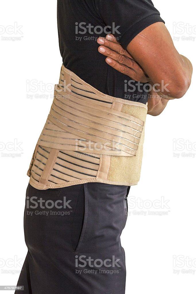 spine splint royalty-free stock photo