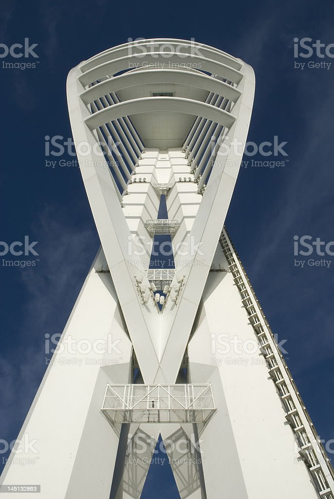 Spinnaker Tower in Portsmouth. England royalty-free stock photo