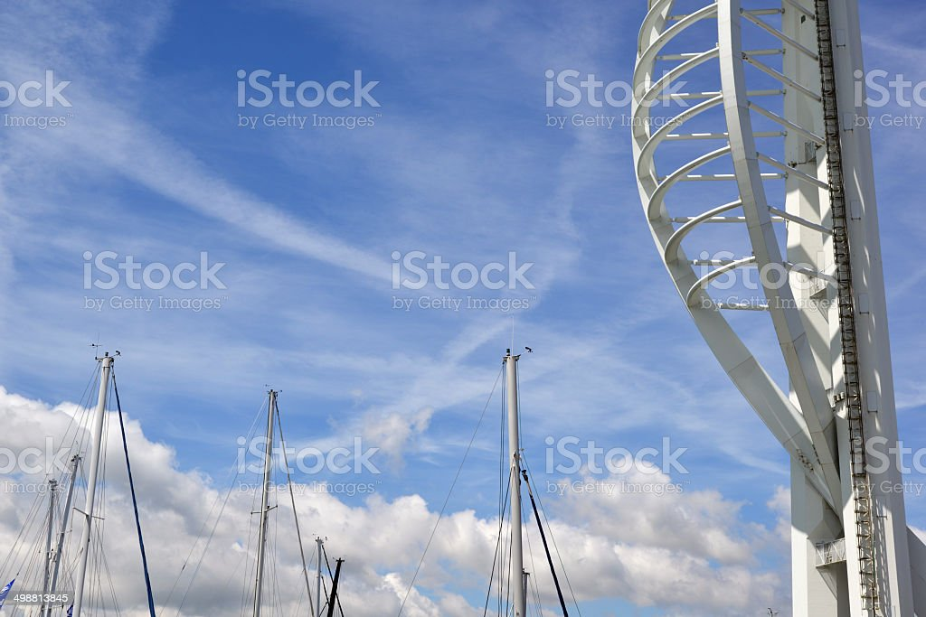 Spinnaker Tower royalty-free stock photo