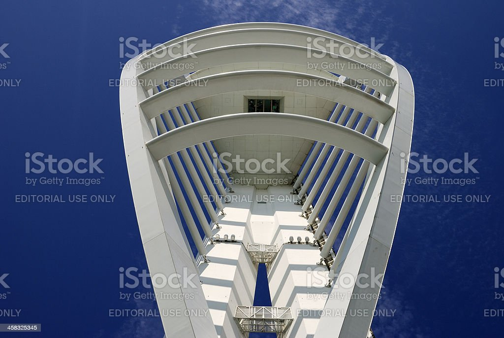 Spinnaker Tower. Portsmouth. England royalty-free stock photo