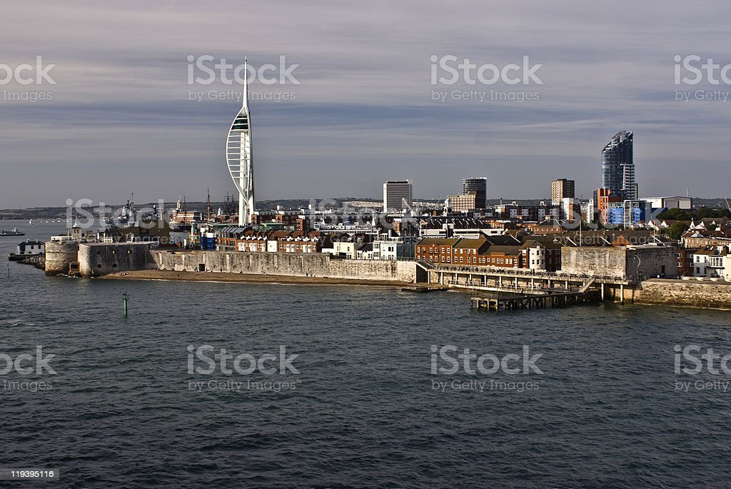 Spinnaker tower,portsmouth,england stock photo