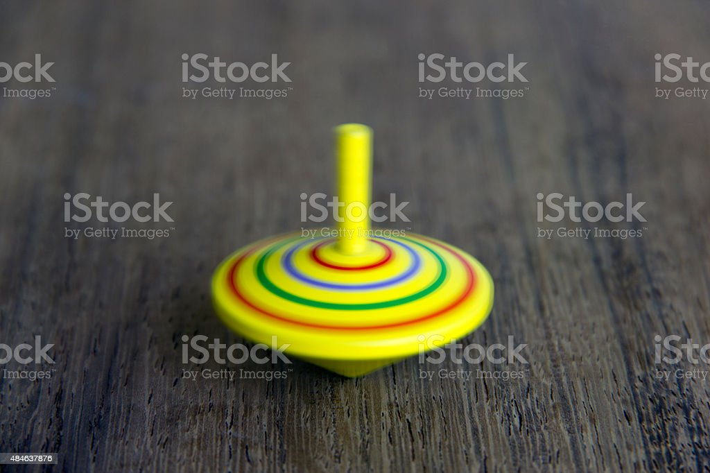 Spinnig toy stock photo