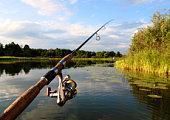 spinning and lake