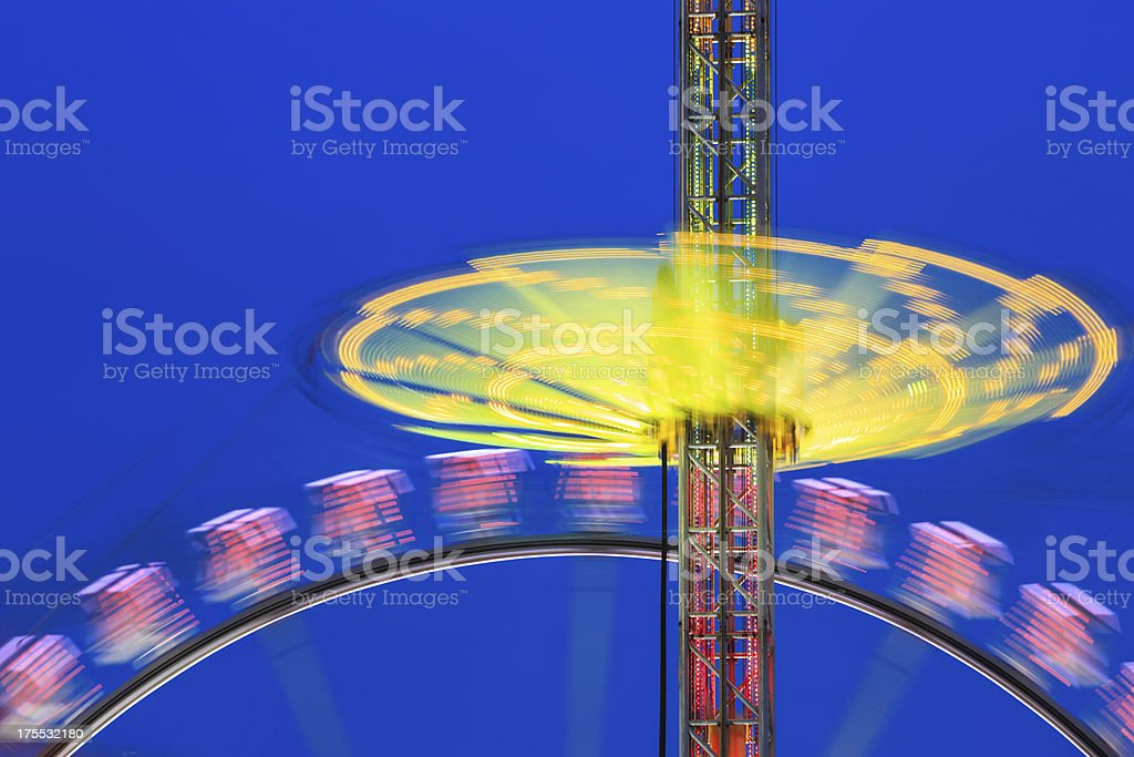 Spinning fun royalty-free stock photo