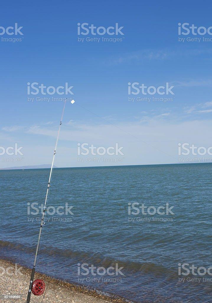 spinning on the beach stock photo
