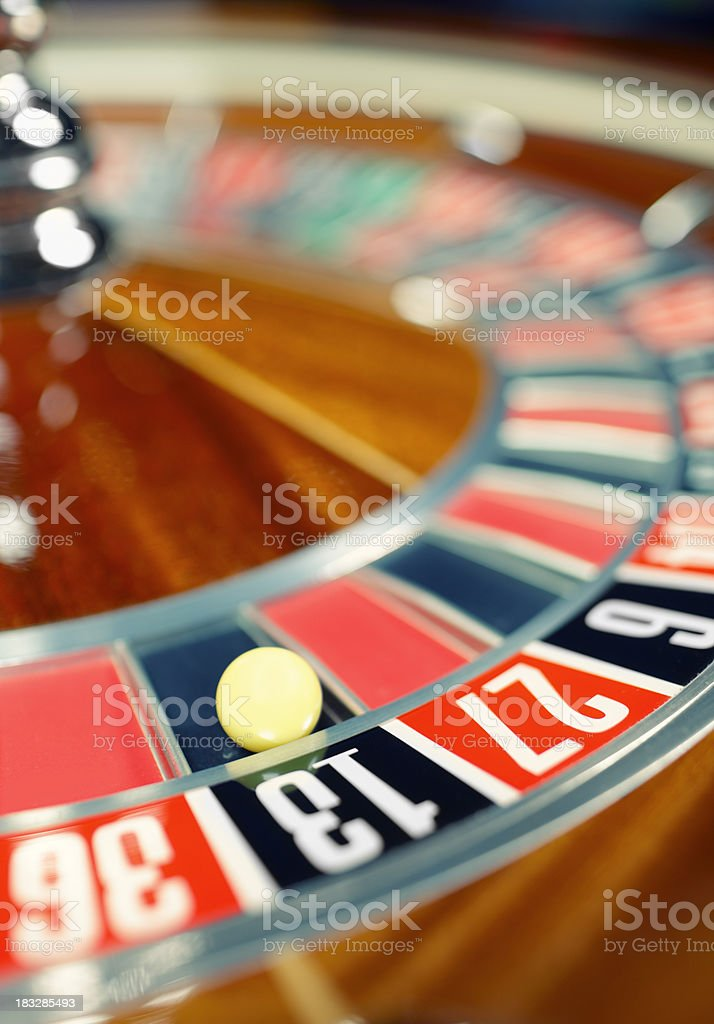 spinning roulette royalty-free stock photo