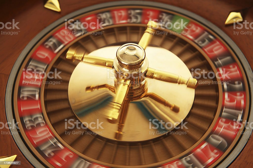 Spinning the Wheel royalty-free stock photo
