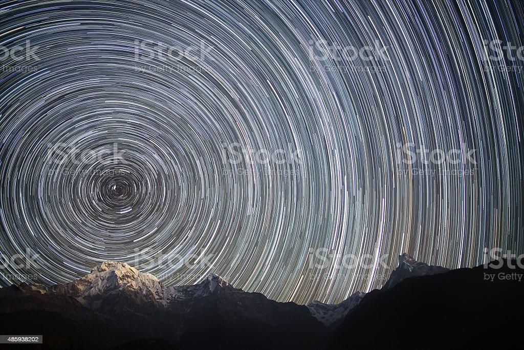Spinning Universe stock photo