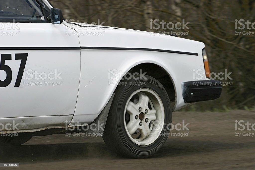 Spinning wheel royalty-free stock photo