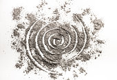 Spiral drawing in scattered ash as wormhole order in chaos