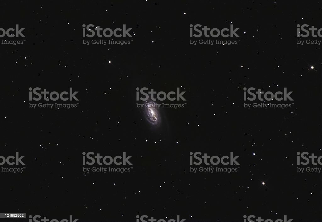 Spiral Galaxy NGC2903 stock photo