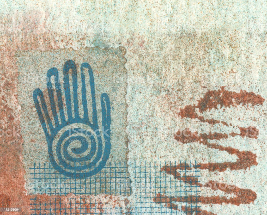 Spiral Hand royalty-free stock photo