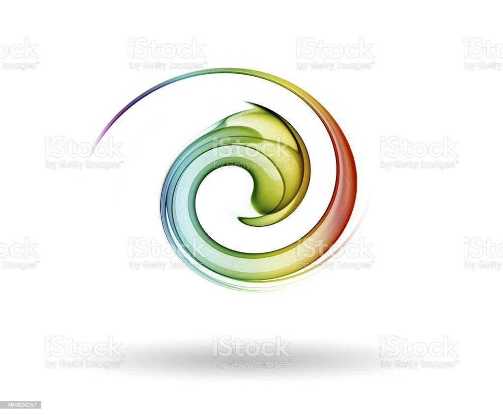 Icono Espiral stock photo