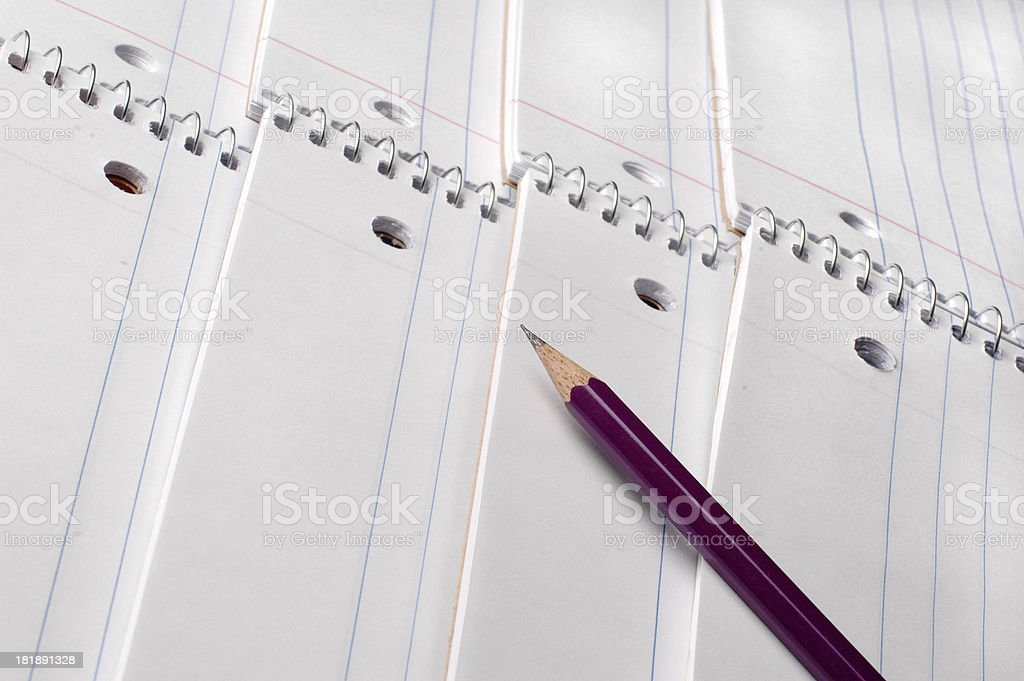 Spiral notebooks royalty-free stock photo