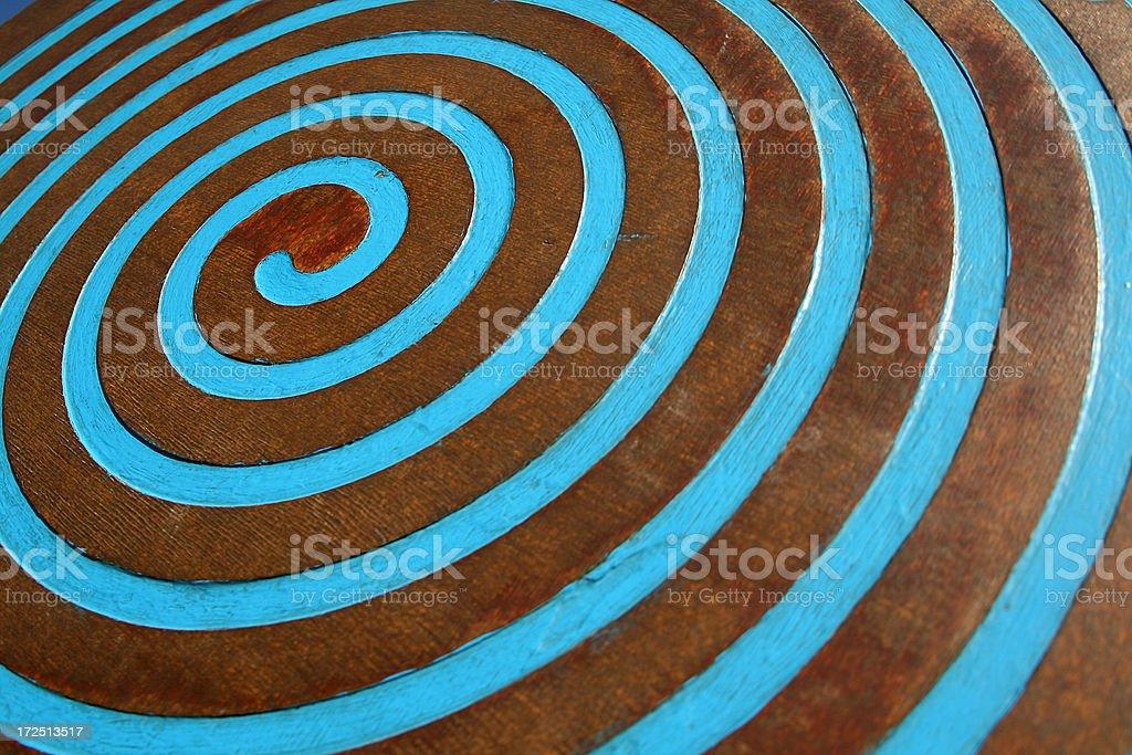 Spiral royalty-free stock photo