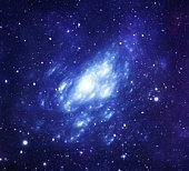 Spiral space galaxy