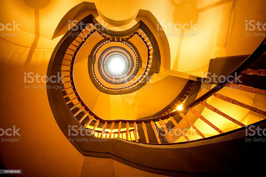 Spiral Staircase royalty-free stock photo