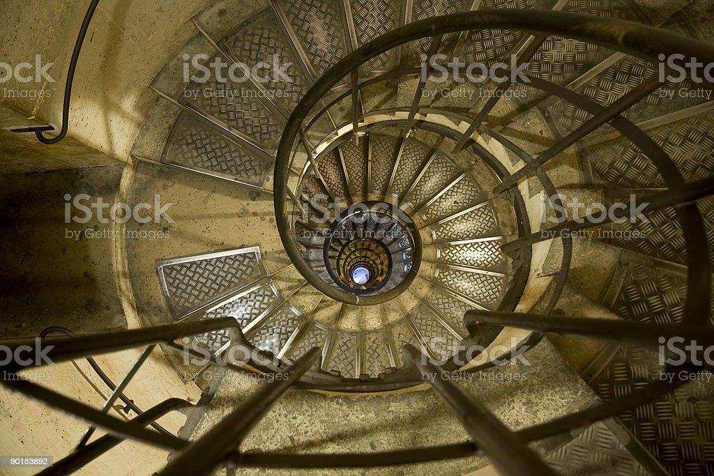 Винтовая лестница Стоковые фото Стоковая фотография