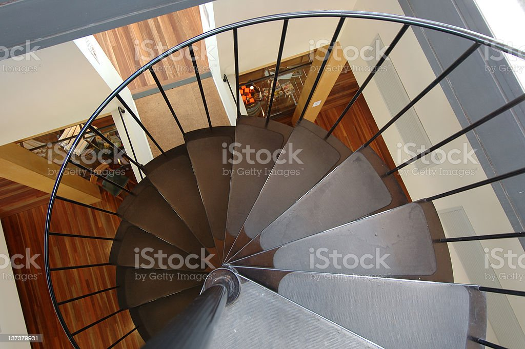 Spiral Stairs #2 royalty-free stock photo