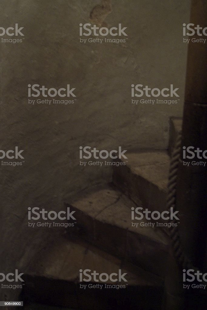 Spiral Steps royalty-free stock photo