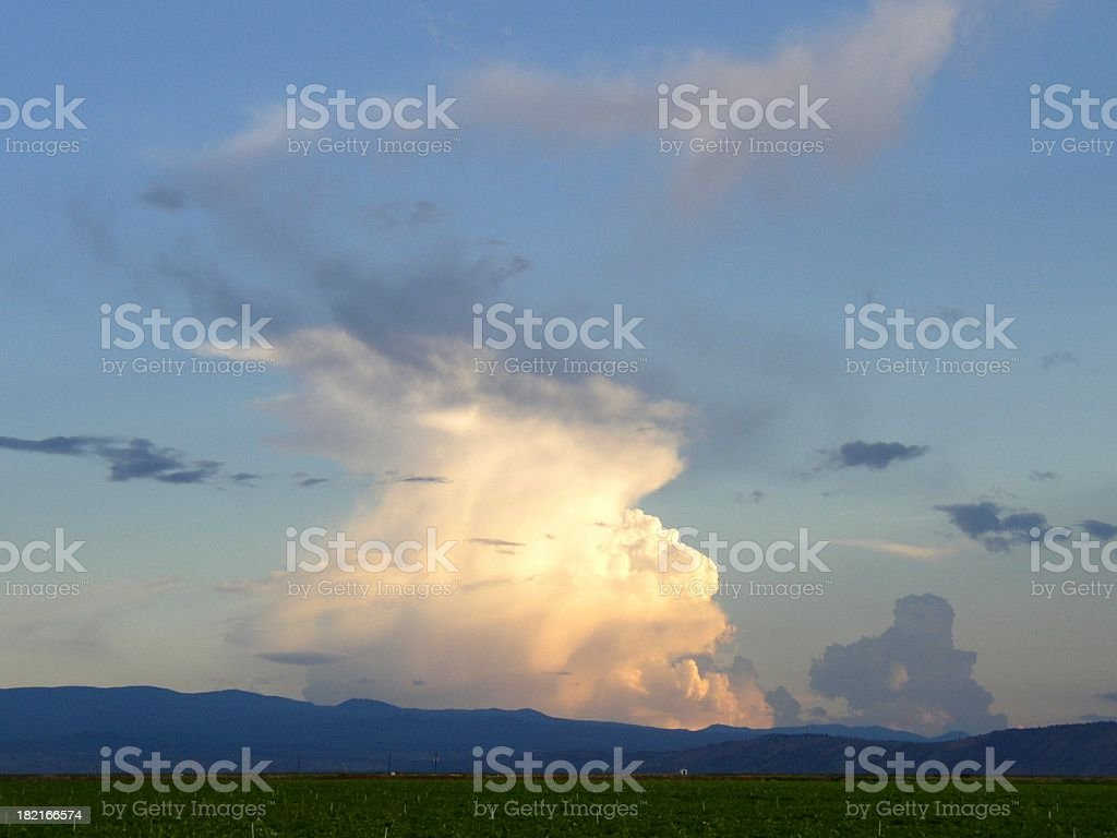 spiral storm #3 royalty-free stock photo