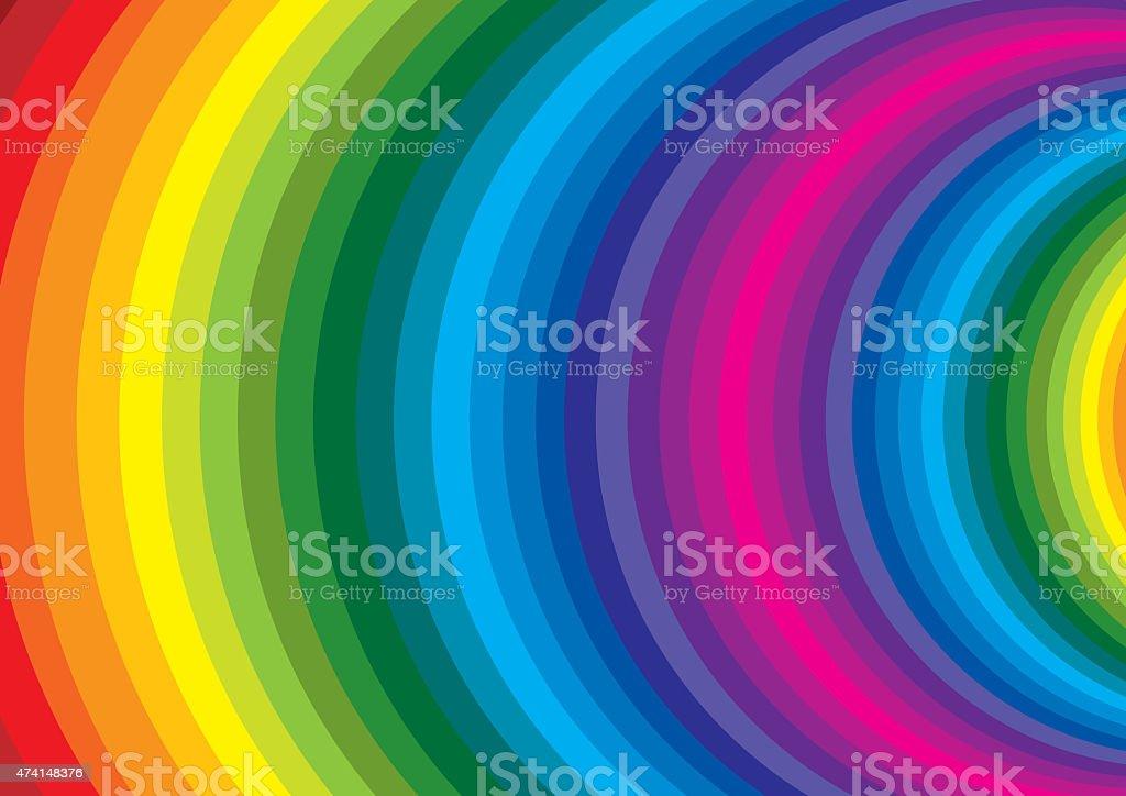 spirale colorata stock photo