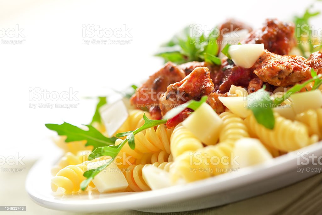 Spiralen noodles royalty-free stock photo