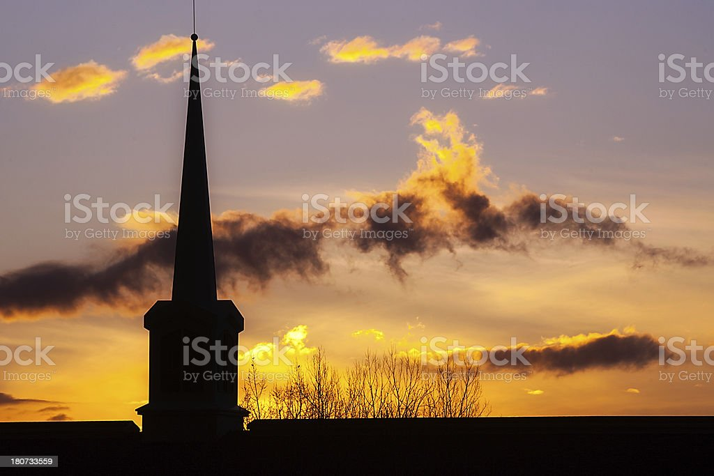 Spire by Man Sky is God's stock photo